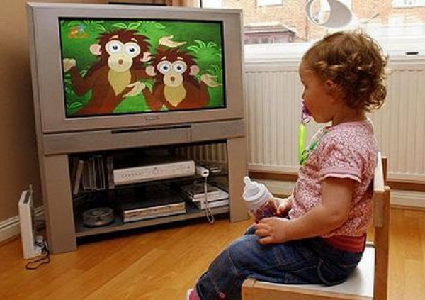 television good young children