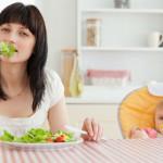 Правильное питание женщины во время кормления грудью