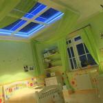 Необычный интерьер детской комнаты для маленькой феи