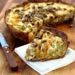 Овощные торты: с помидорами, брокколи, спаржей и брюссельской капустой