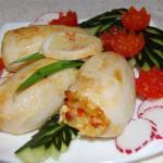 Рецепты блюд из кальмаров на скорую руку