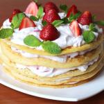 Блинный торт: как приготовить