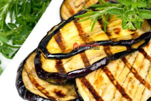 Grilled Eggplant Slices