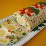 Праздничный яркий салат