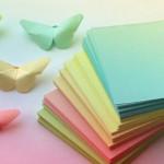 Легкое оригами — Бабочка из бумаги.Видео