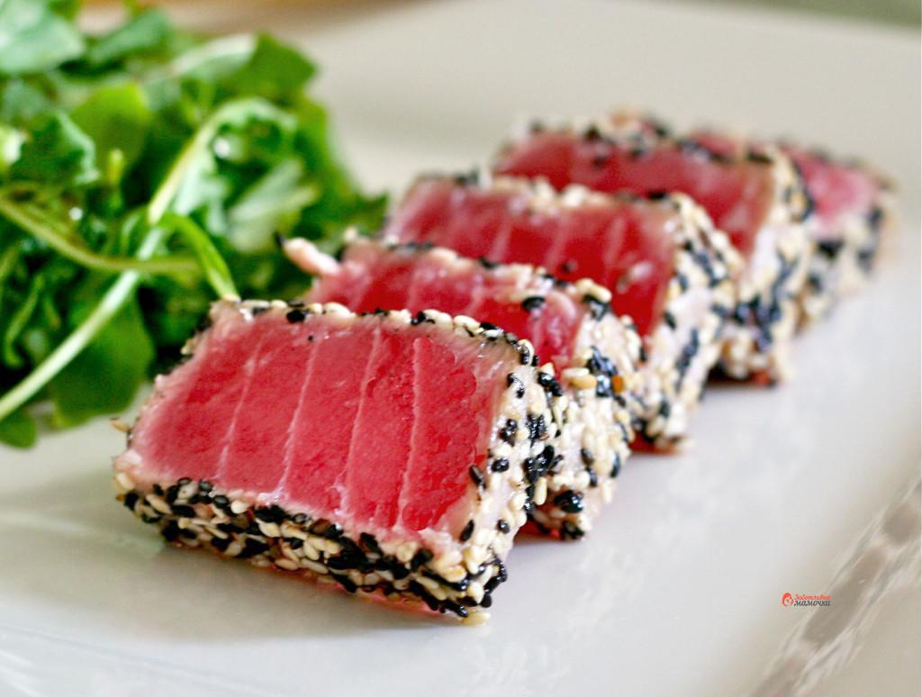 Рецепты из филе тунца замороженного рецепты