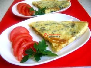 omlet-s-zelenyu