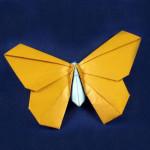 Сложное оригами — Бабочка из бумаги.Видео