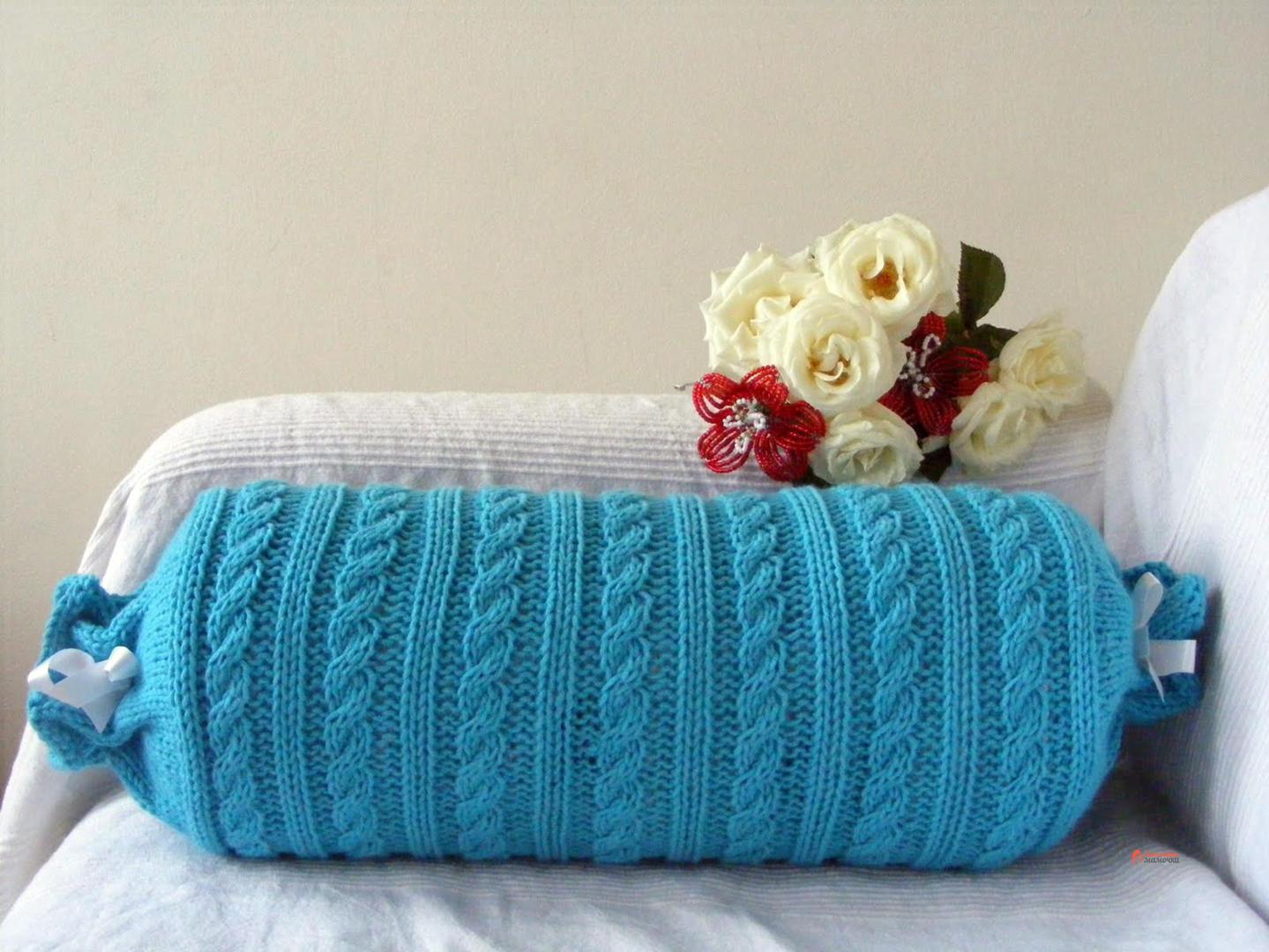 Подушки-валики: декоративные и лечебные свойства Заботливые мамочки