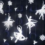 Снежинка — балеринка. Новогоднее украшение своими руками