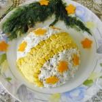 Праздничные салаты из печени