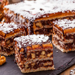 Вафельный торт Грильяж