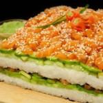 Суши-торт: это так просто!