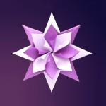 Модульная оригами звезда