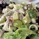 Яблочно-куриный салат