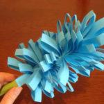 Цветок гиацинта — оригами