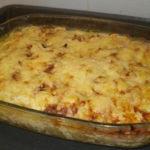 Пельмени, запеченные с сыром