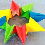 Оригами калейдоскоп