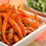 Морковь, тушенная в апельсиновом соке
