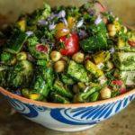Персидский овощной салат