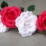 Как сделать цветок розы из гофрированной бумаги