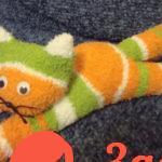 Котенок из носков своими руками