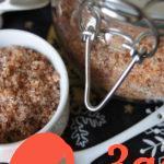 Как приготовить ароматизированную соль самостоятельно