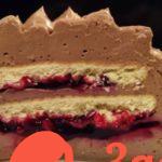 Готовимся встречать Новый 2018 год: Шоколадный творожный торт без выпечки