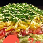 Салат овощной Праздничный