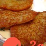 Картофельные драники (постные)