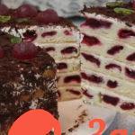 Торт Вишневые Соты