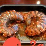 Баклажан-гармошка с мясом