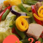 Эффектный салат к новому году