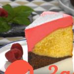 Необычный рецепт малинового торта