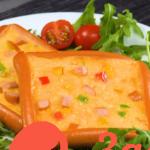 Простые и вкусные угощения из яйца и сосиски